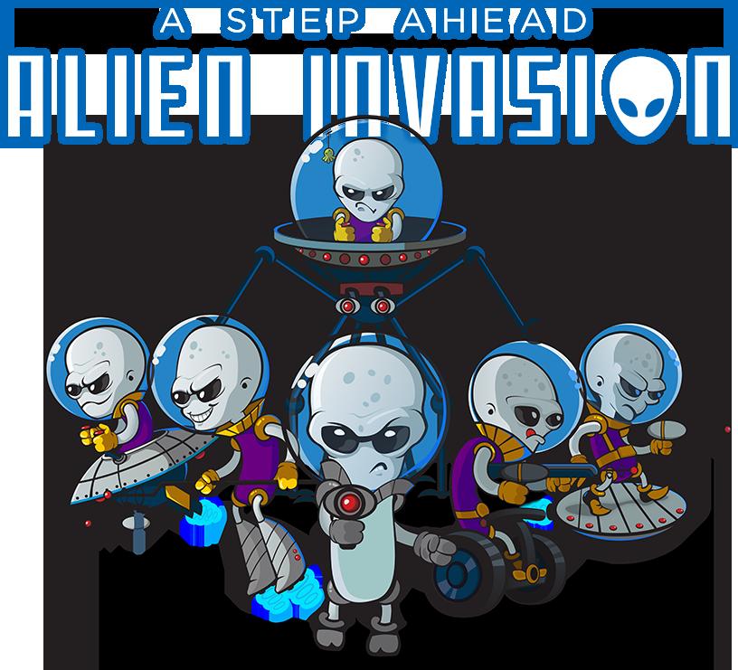 A Step Ahead: Alien Invasion